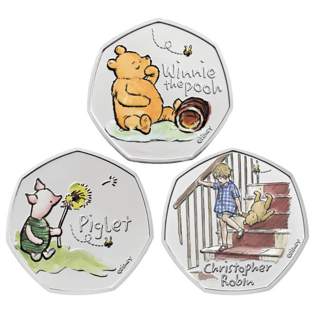 The coin is the first in an adorable collection (Credit: Royal Mint)