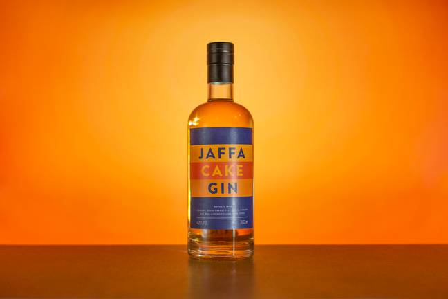 The gin is distilledwith oranges, fresh orange peel, cocoa powder and real-life Jaffa Cakes (Credit: Masters of Malt)