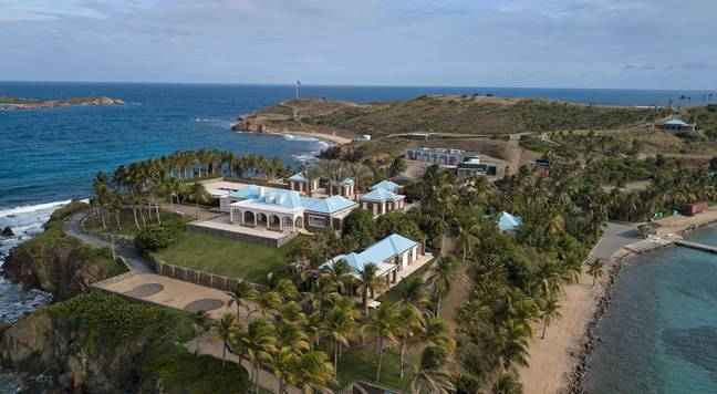 Jeffrey Epstein owned Little St. James island in the Virgin Islands where much of his abuse took place (Credit: PA)