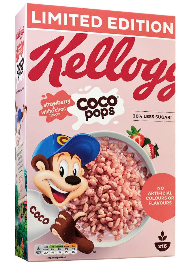And they'll turn your milk pink! (credit: Kellogg's)