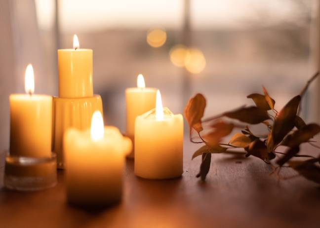 Candles are popular at this time of year (Credit: Unsplash)