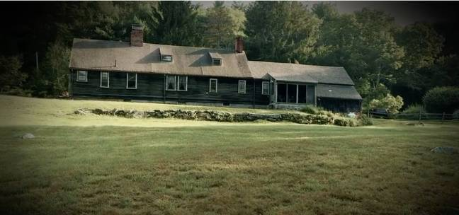 The real 'Conjuring' house is allegedly still haunted (Credit: The Dark Zone)
