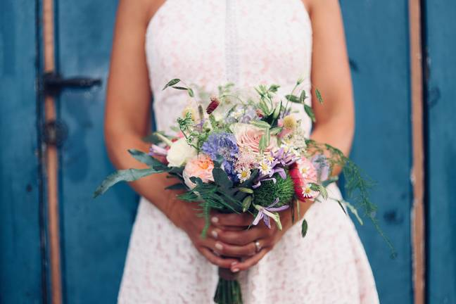 Weddings with a maximum of 30 people will be allowed from 4th July (Credit: Unsplash)