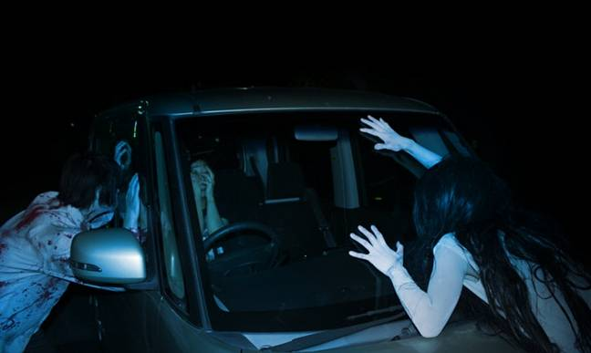 Visitors will drive through scenes of iconic horror movies (Credit: Cyclone Events Management)