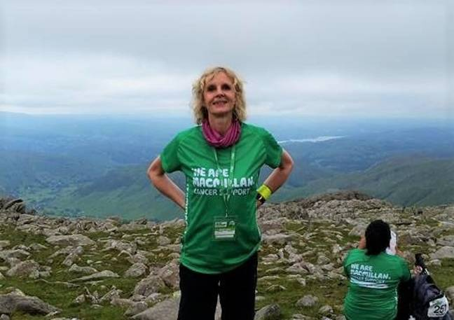 Lucy's mother climbed mountains while battling ovarian cancer (Credit: Lucy Miller)