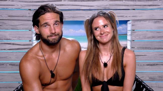 The couple first locked eyes on Love Island in 2017 (Credit: ITV)