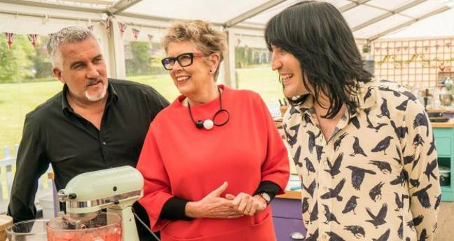 Paul, Prue and Noel will be back for the festive shows (Credit: Channel 4)