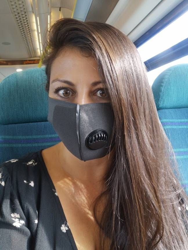 The pandemic cut Rebecca's travelling dream short (Credit: Jam Press)
