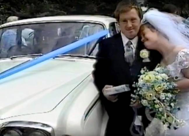 Tommy asked Maryanne's mum for her blessing before the couple tied the knot (Credit: Caters)