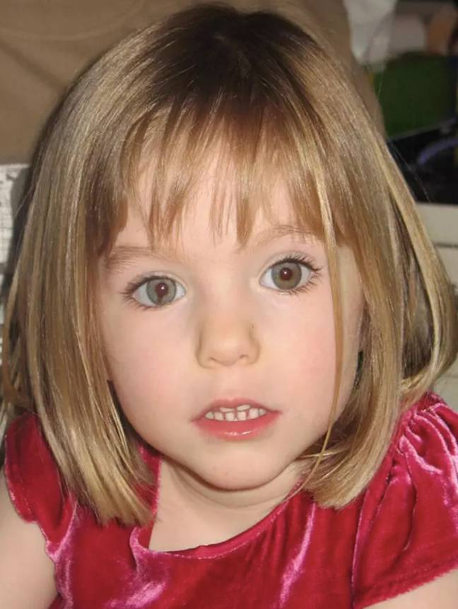 Madeleine went missing in 2007 (Credit: PA)