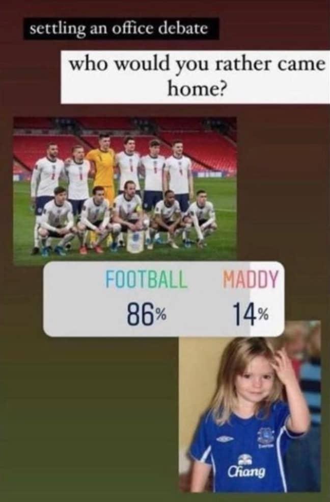 Sick jokes circulated on social media (Credit: Twitter)