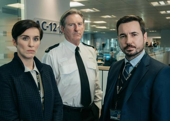 The 'Line Of Duty' coppers will return to investigate newbie Joanne (Credit: BBC)