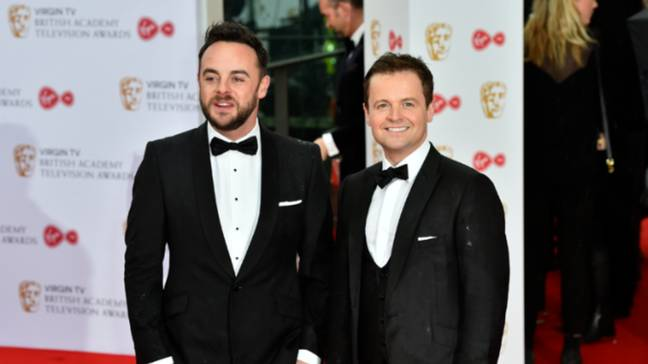 Ant and co-host Dec. Credit: PA