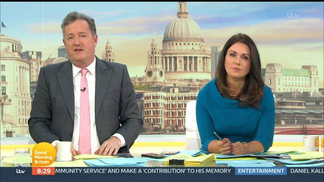 ITV announced Piers Morgan would leave Good Morning Britain immediately on Tuesday evening (Credit: Shutterstock)