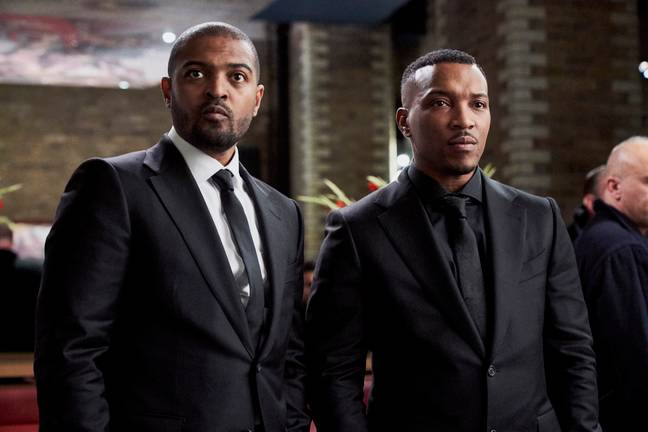 Noel Clarke and Ashley Walters will return as Bishop and Pike (Credit: Sky)