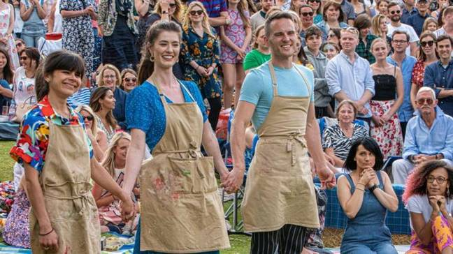 The Great British Bake Off final aired last night (Credit: Channel 4)