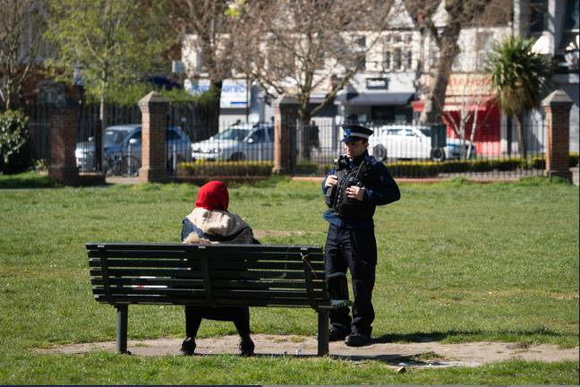The home secretary said more than 800 fines had already issued in the past two weeks for 'egregious' breaches of restrictions (Credit: PA)