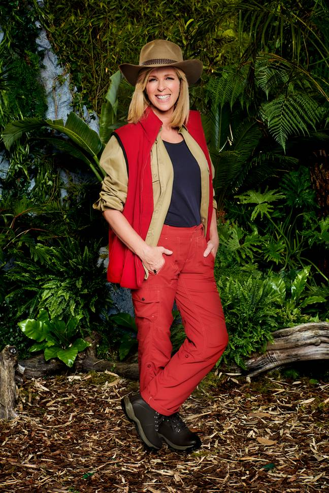 'GMB' presenter Kate, 52, initially remained coy about her involvement Down Under last month. (Credit: ITV)