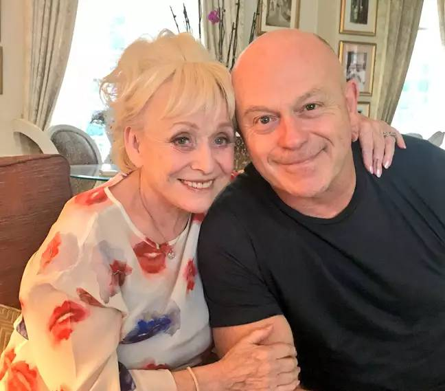 Ross learns how dementia has affected co-star Barbara Windsor (Credit: Ross Kemp Twitter)