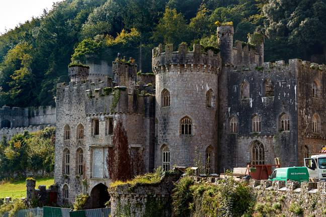 Gwyrch Castle was the home of I'm A Celeb last year (Credit: Shutterstock)