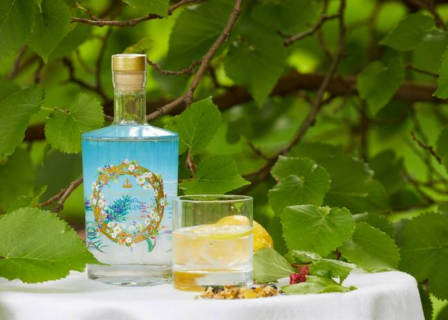 The 42% abv gin will also be sold at The Royal Collection Trust shops and served at official events at the Palace (Credit: PicSelect)