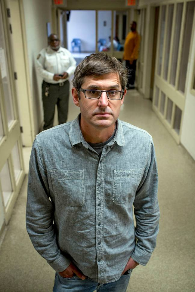 Fans aren't used to seeing a domesticated Louis Theroux (Credit: BBC)