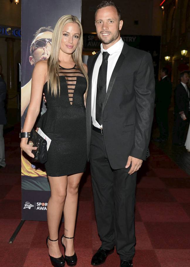 Pistorius was accused of murdering his girlfriend, Reeva (Credit: PA)