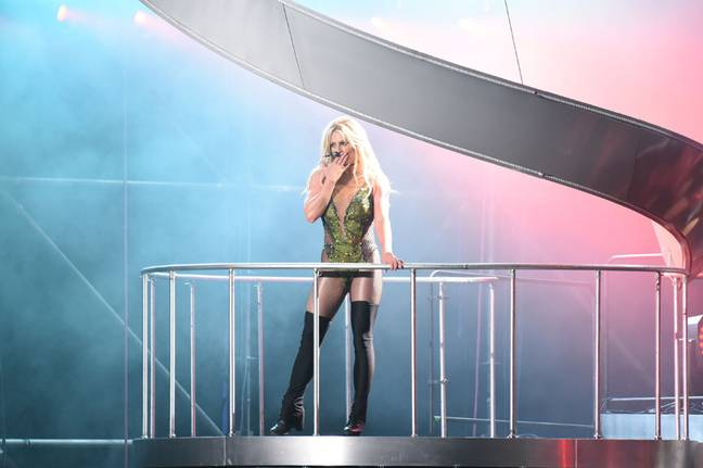 Britney Spears refused to tour while under the conservatorship Credit: PA