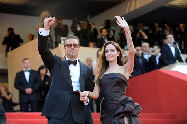 Angelina Jolie and Brad Pitt split last year (Credit: PA)