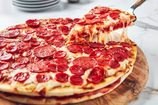 You can get your hands on a double decker pepperoni (Credit: Iceland)