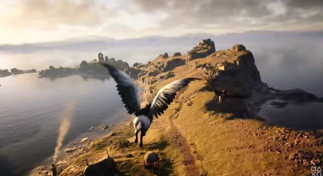 You can meet fantasy creatures in the game (Credit: Warner Bros. Games)
