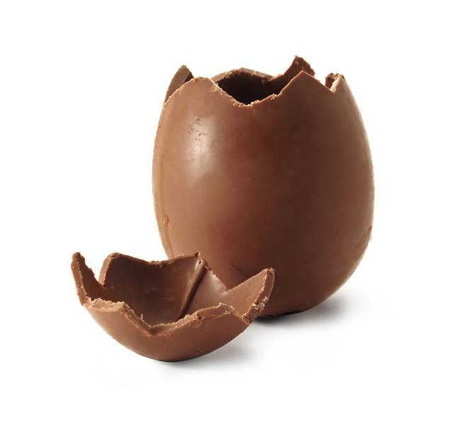 Vets think Bailey ate about half of a milk chocolate Easter egg (Credit: Shutterstock)