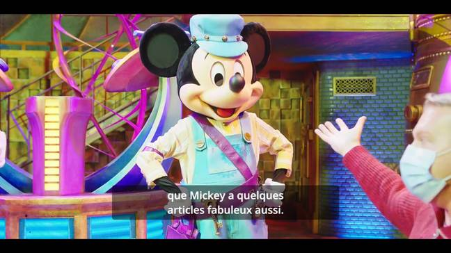 We now have our first glimpse into the Disney Junior dream factory (Credit: Disneyland Paris/Youtube)
