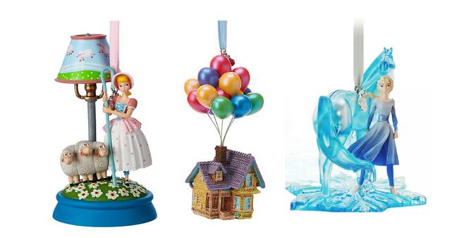 Left to right: Bo Peep, the house from Up! and Elsa (Credit: Disney)