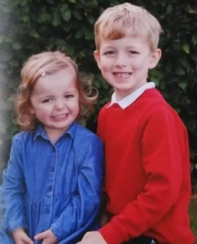Marla revealed that they were able to pin the fringe back for a school photo (Credit: Kennedy News)