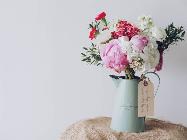 Pictures of flowers and gushing tributes can be difficult to see for those who have lost their mums (Credit: Unsplash)