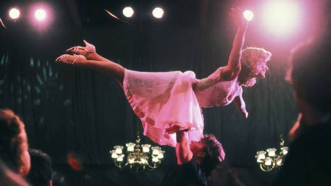 The fan favourite stars Patrick Swayze as Johnny and Jennifer Grey as Baby (Credit: Warner Bros)
