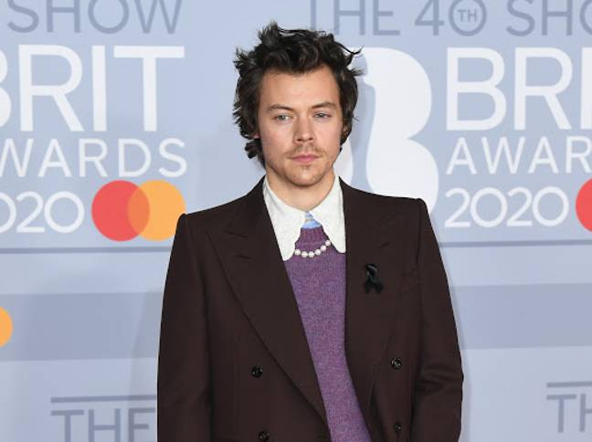 Harry Styles, pictured here at the 2020 Brit Awards, is one of four scents of famous men available (Credit: PA)
