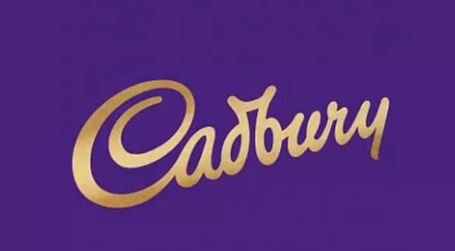 The old Cadbury logo was thicker and slanted (Credit: Cadbury)