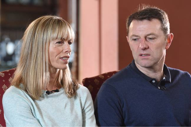 Kate and Gerry McCann released a message ahead of Madeleine's 18th birthday (Credit: PA)