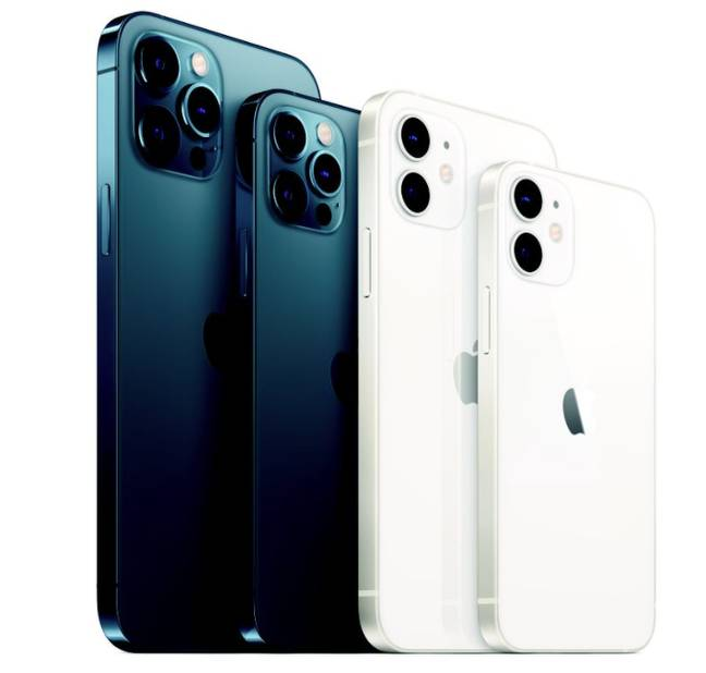 The iPhone 12 Pro and Pro Max. Credit: Apple