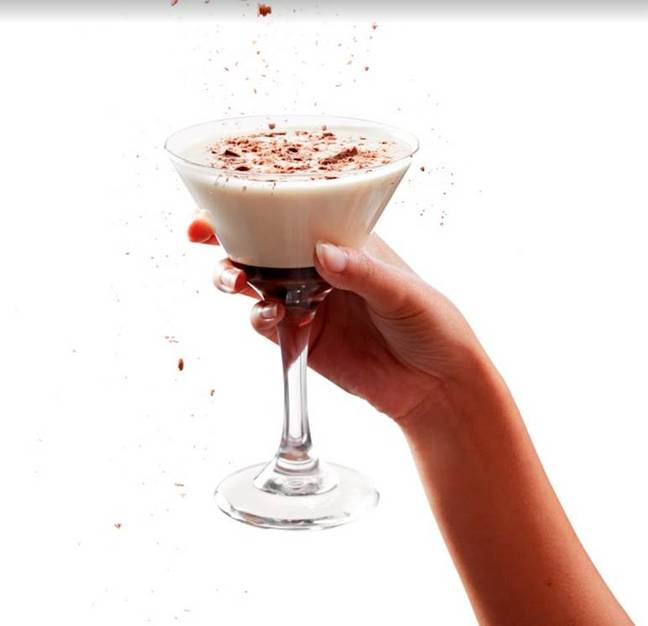 The Baileys Chocolate Orange cocktail looks delicious (Credit: Friday's)