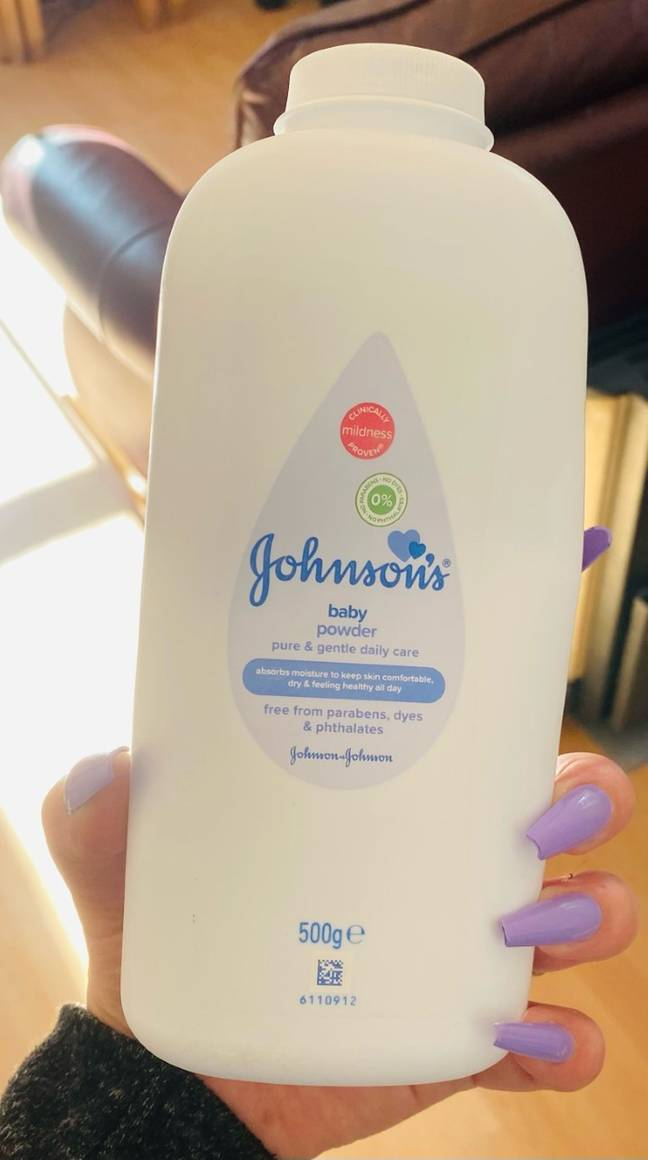 Talc is now banned from the house (Credit: Kennedy News Media)