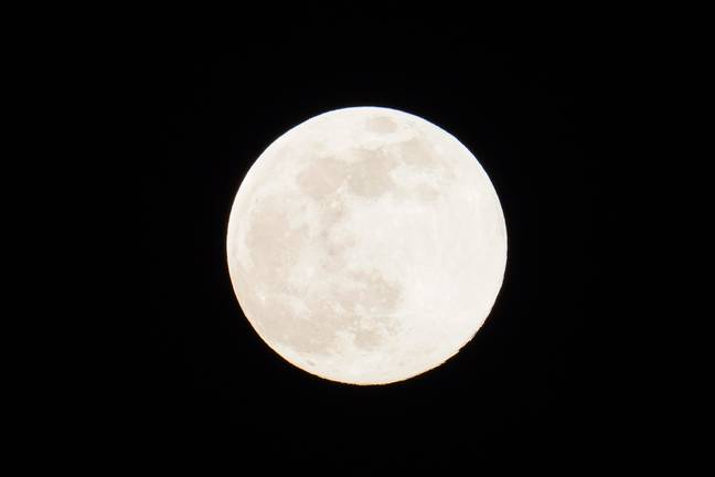 The Moon becomes a Supermoon when it reaches its perigee - the point closest to the Earth's orbit (Credit: PA)