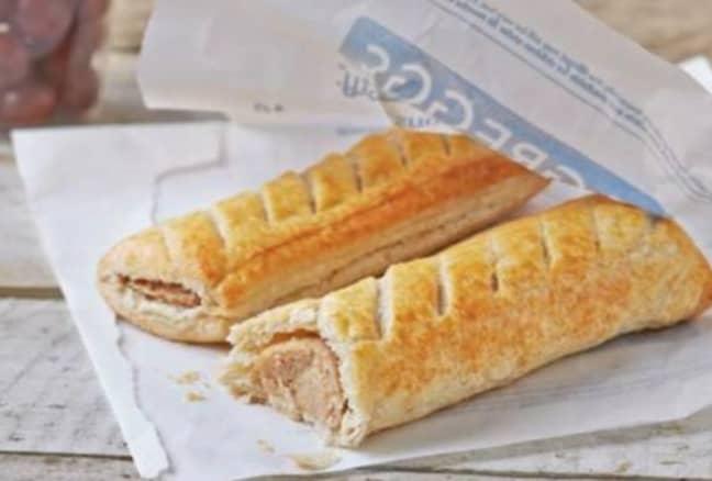 Free vegan sausage roll, anyone? (Credit: Greggs)