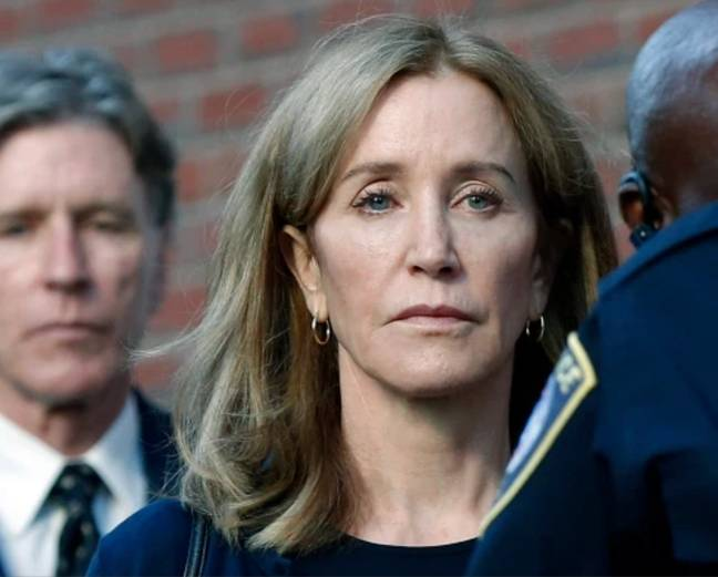 A number of high profile names, including Felicity Huffman, were investigated (Credit: PA)