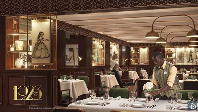 There's plenty of incredible dining options to choose from, including the glamorous 1923 (Credit: Disney)