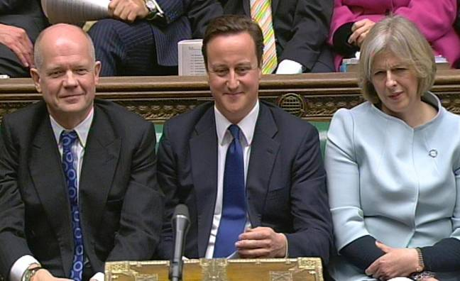 David Cameron resigned as Prime Minister in 2016 (Credit: PA)
