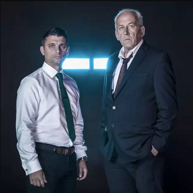 A crack team of intelligence agents are tasked with hunting the fugitives (Channel 4)