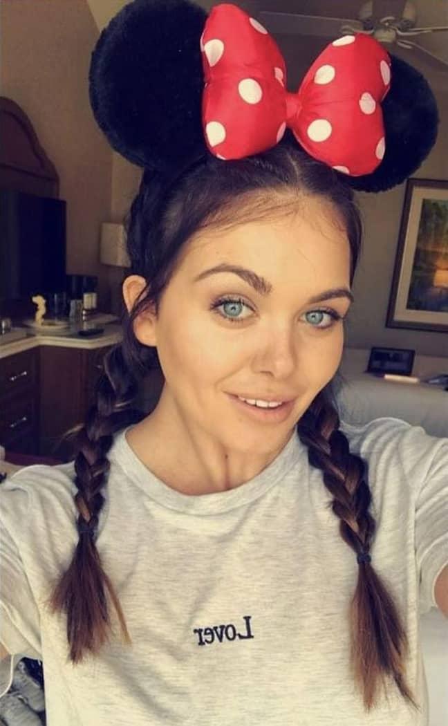Scarlett, Tom and her family then went on a trip to Disneyland (Credit: Instagram/ Scarlett Moffatt)